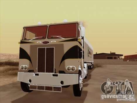 Peterbilt 352 для GTA San Andreas вид слева