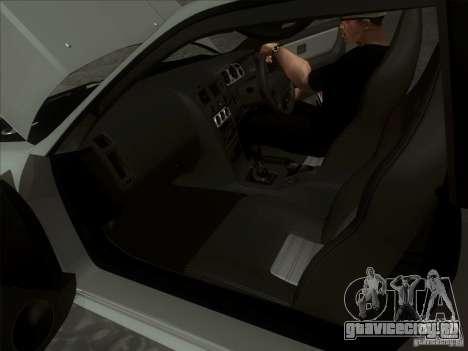 Nissan Skyline GTR BNR33 для GTA San Andreas вид сзади