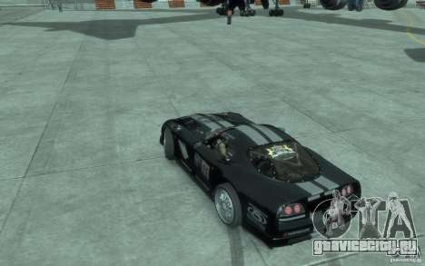Dodge Viper Competition Coupe для GTA 4 вид слева