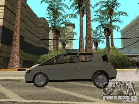 Renault Avantime для GTA San Andreas вид сзади слева