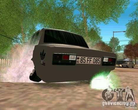 ВАЗ 2107 Full для GTA San Andreas вид справа