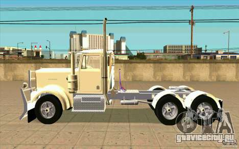 Kenworth W900 Heavy Hauler 1974 для GTA San Andreas вид слева