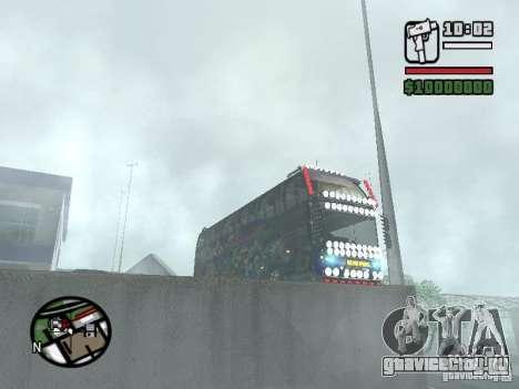 Neoplan для GTA San Andreas вид сбоку
