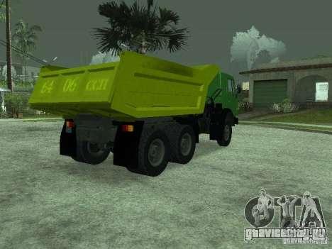 КамАЗ 55112 для GTA San Andreas