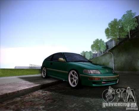 Honda Civic CRX JDM для GTA San Andreas вид снизу