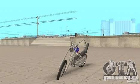 Captain America Chopper для GTA San Andreas