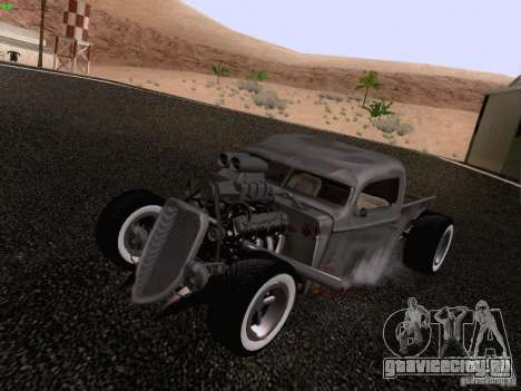 Ford Pickup Ratrod 1936 для GTA San Andreas