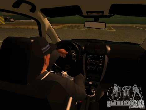 Suzuki SX-4 Hungary Police для GTA San Andreas вид сверху