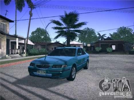 Mazda 626 GF 1999 для GTA San Andreas вид сзади слева