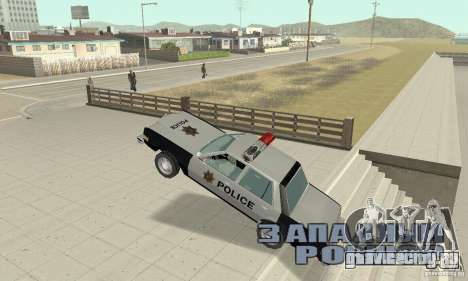Dodge Diplomat 1985 Police для GTA San Andreas вид сбоку