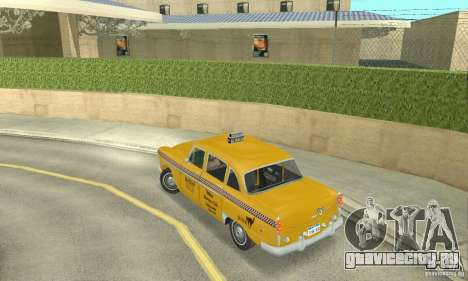 Checker Marathon 1977 Taxi для GTA San Andreas вид слева