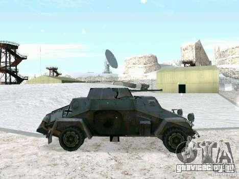 Бронетранспортёр из игры В Тылу врага 2 для GTA San Andreas вид слева