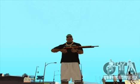WEAPON BY SWORD для GTA San Andreas второй скриншот