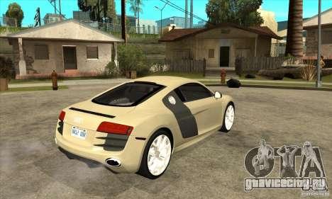 Audi R8 V10 5.2 FSI Quattro для GTA San Andreas