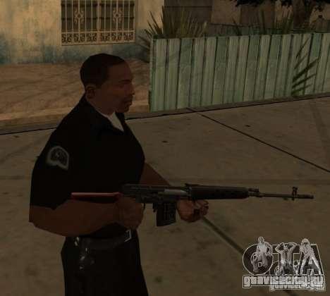 Пак Отечественного Оружия Модернизированный для GTA San Andreas