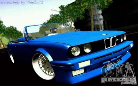 BMW E30 M3 Cabrio для GTA San Andreas