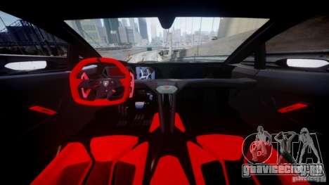 Lamborghini Sesto Elemento 2013 V2.0 для GTA 4 вид сзади