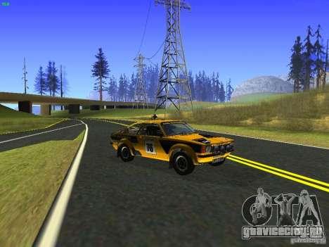 Opel Kadett для GTA San Andreas вид справа