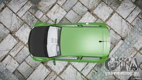 Renault Clio V6 для GTA 4 вид справа