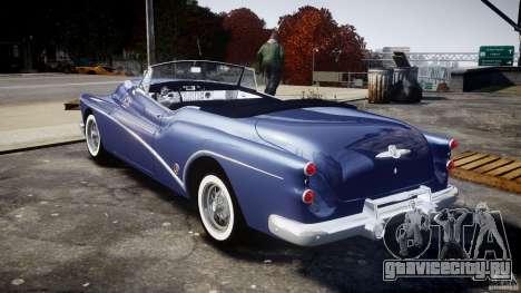 Buick Skylark Convertible 1953 v1.0 для GTA 4 вид справа