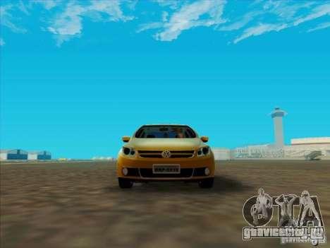 Volkswagen Voyage Comfortline 1.6 2009 для GTA San Andreas вид слева