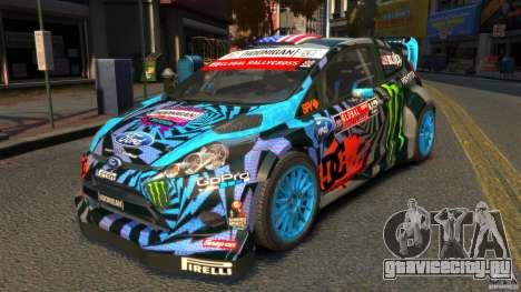 Ford Fiesta Rallycross Ken Block (Hoonigan) 2013 для GTA 4