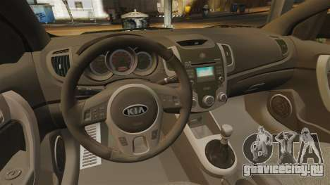 Kia Cerato Koup Edit для GTA 4 вид изнутри