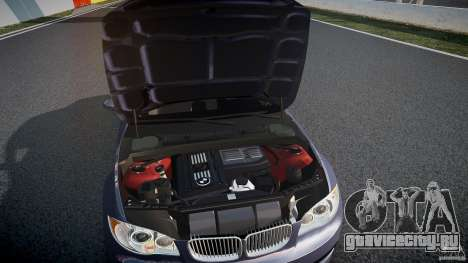 BMW 135i Coupe v1.0 2009 для GTA 4 вид сверху