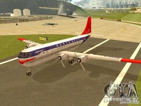 Boeing 377 Stratocruiser для GTA San Andreas