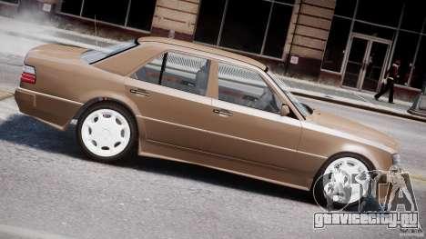 Mercedes-Benz W124 E500 1995 для GTA 4 двигатель
