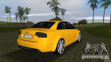 Audi RS4 для GTA Vice City вид справа
