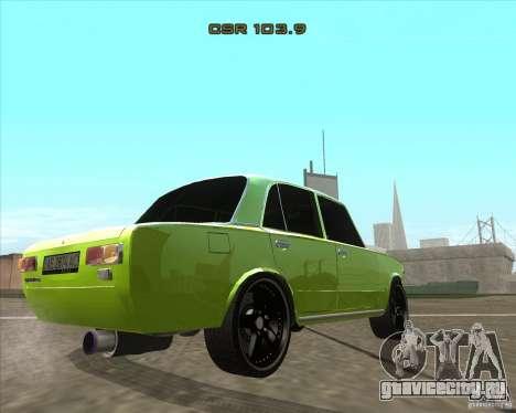 ВАЗ 2101 tuning version для GTA San Andreas вид слева