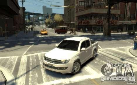 Volkswagen Amarok TDI 2011 для GTA 4 вид слева