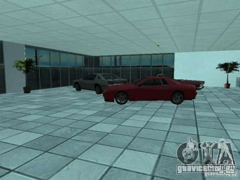 Больше машин в автосалоне в Догерти для GTA San Andreas четвёртый скриншот