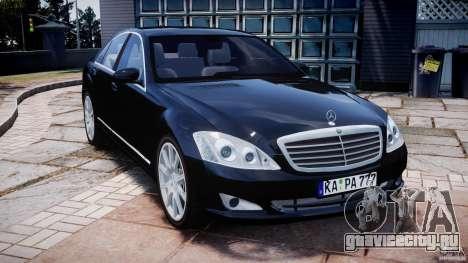 Mercedes-Benz S600 w221 для GTA 4