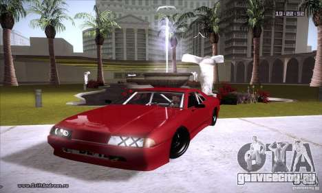 ENBSeries v5.0 Baby Blue для GTA San Andreas пятый скриншот