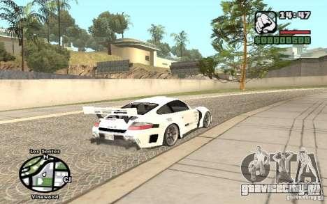 Porsche 911 Turbo S Tuned для GTA San Andreas вид слева
