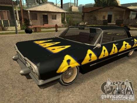 Savanna Texturen для GTA San Andreas вид слева