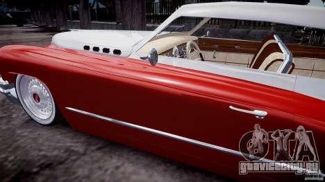 Buick Custom Copperhead 1950 для GTA 4 вид сбоку