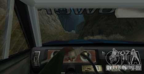 Eon SabreTaur Picador для GTA San Andreas вид сзади