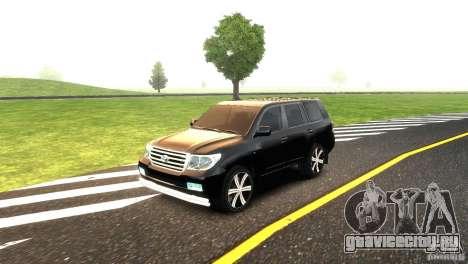 Toyota Land Cruiser 200 RESTALE для GTA 4