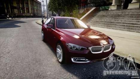 BMW 335i 2013 v1.0 для GTA 4 вид сбоку