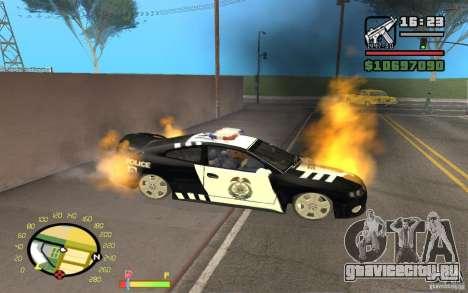 Горение авто как в GTA 4 для GTA San Andreas