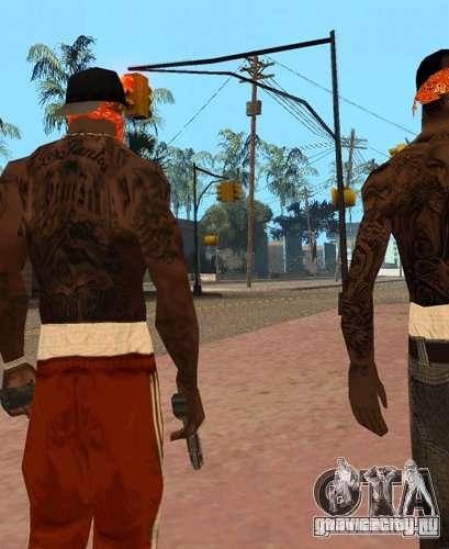 Замена банд, татуировок, одежды и т.п. для GTA San Andreas второй скриншот