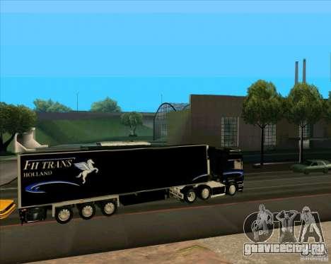 Trailer к Scania R620 Pimped для GTA San Andreas вид слева