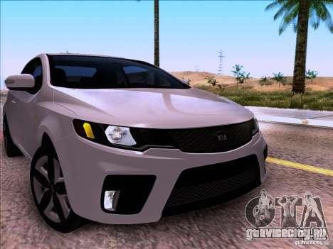 Kia Forte Koup SX для GTA San Andreas вид справа