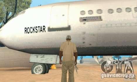 Обновлённый заброшенный аэропорт в пустыне для GTA San Andreas шестой скриншот