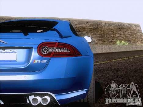 Jaguar XKR-S 2011 V2.0 для GTA San Andreas вид сбоку