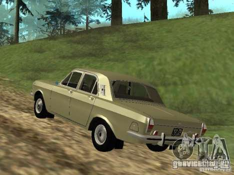 ГАЗ 24-01 для GTA San Andreas вид справа
