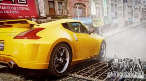 Nissan 370Z Final для GTA 4 вид слева
